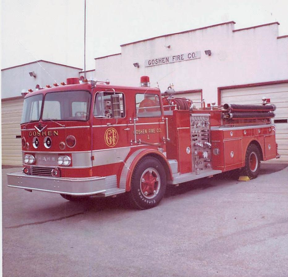 Retired Apparatus : Goshen Fire Company